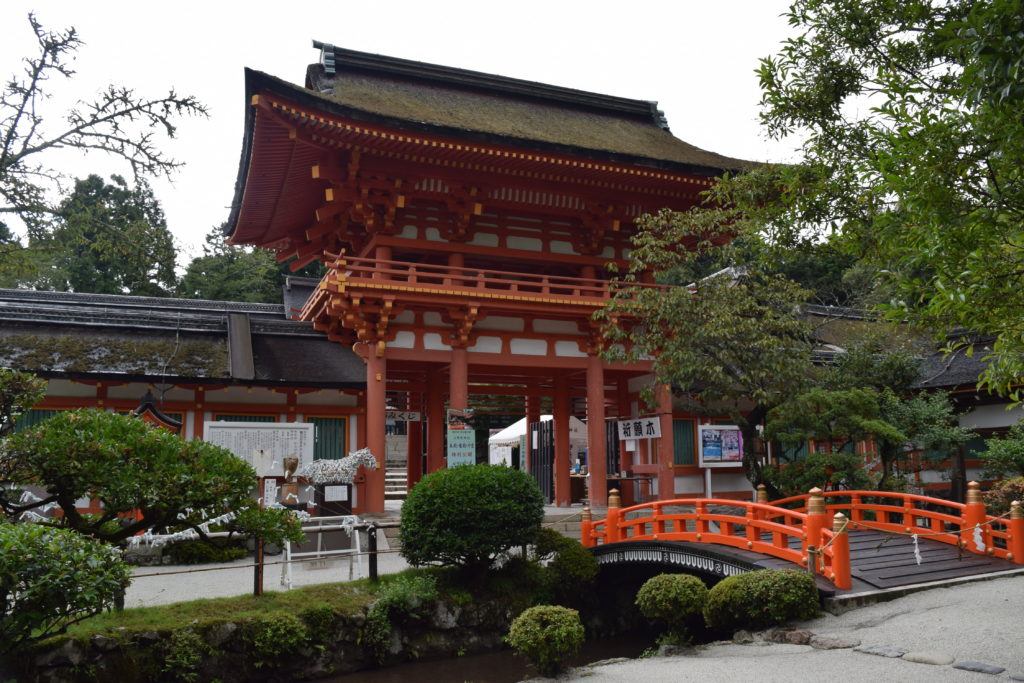 上賀茂神社楼門