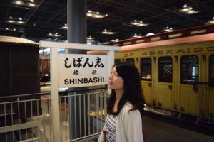 新橋駅の復元