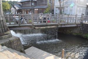 佐原の街並み樋橋