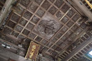 鶴谷八幡宮彫刻