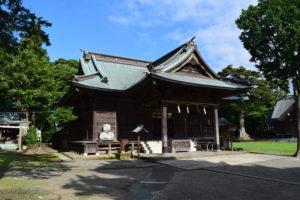 鶴谷八幡宮本殿