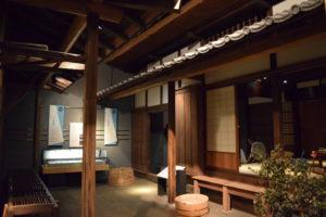 江戸時代住居模型