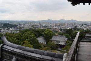 犬山城からの景色