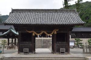 吉備津彦神社門