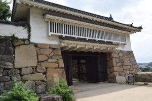 岡山城城門