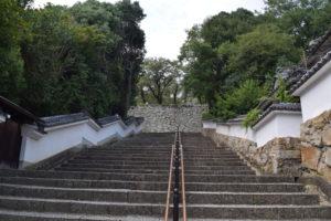 津山城石段