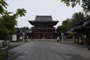 笠間稲荷神社楼門