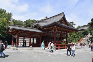 鶴岡八幡宮舞台