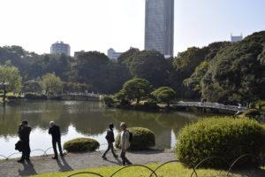 新宿御苑回遊式庭園