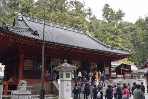 二荒山神社の本殿