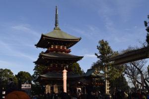 成田山の様子