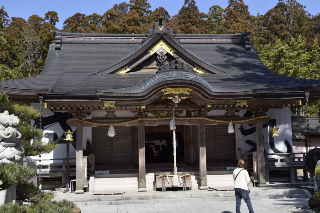 熊野本宮大社拝殿