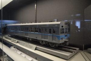 東西線の旧車両模型