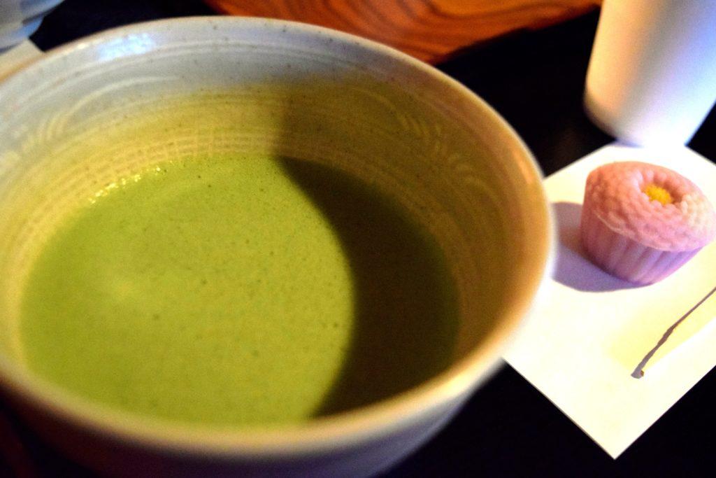岩崎庭園お抹茶