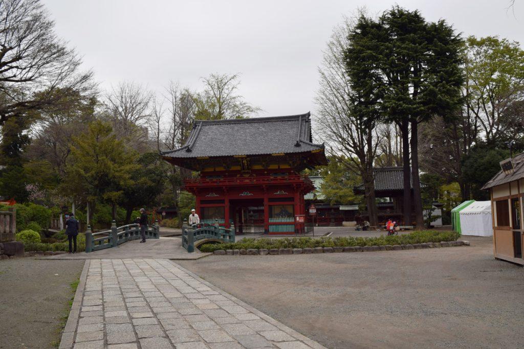 根津神社楼門