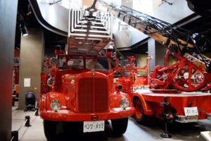 ベンツの消防車