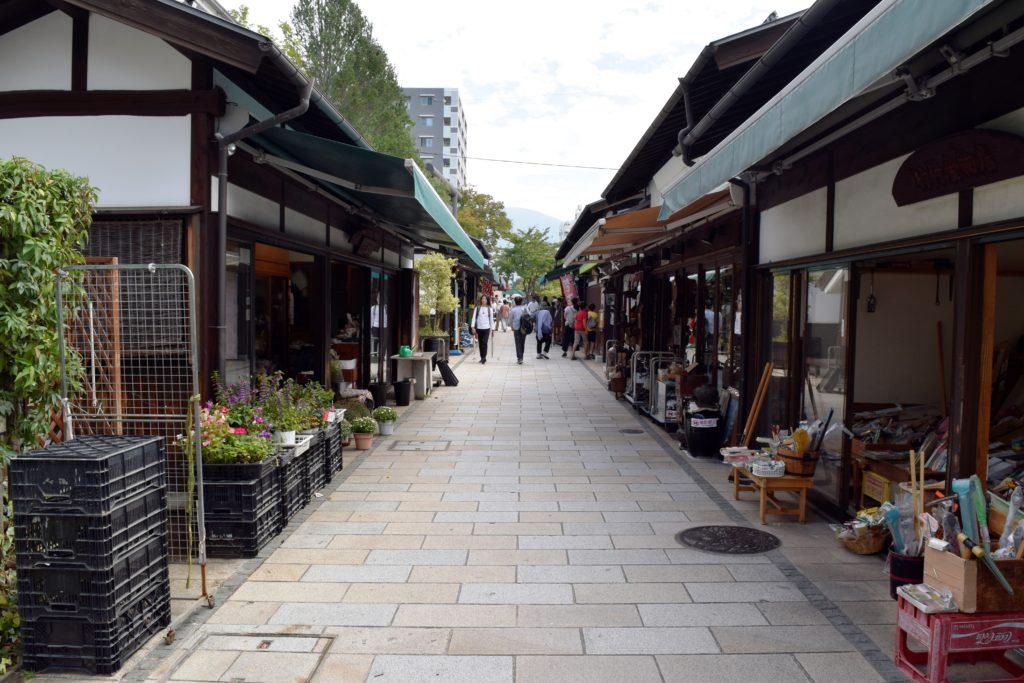 縄手通りの風景