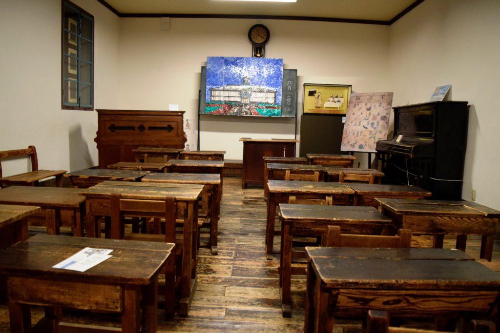 当時の教室の風景