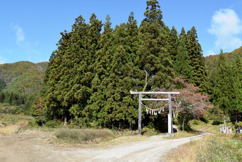高倉神社入口