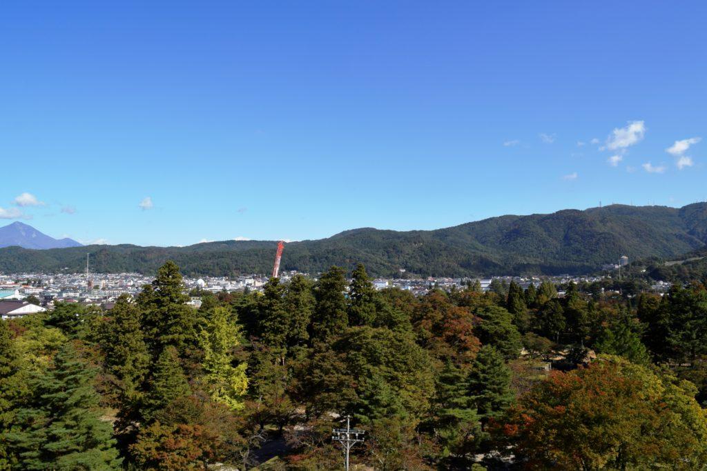 東側の景色