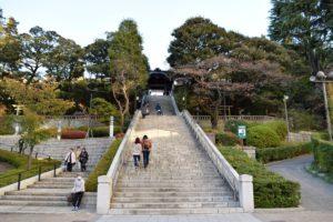 二荒山神社の石段
