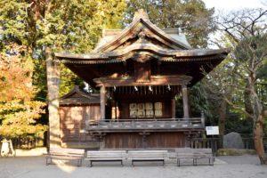二荒山神社の神楽殿