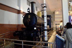 東武博物館の機関車