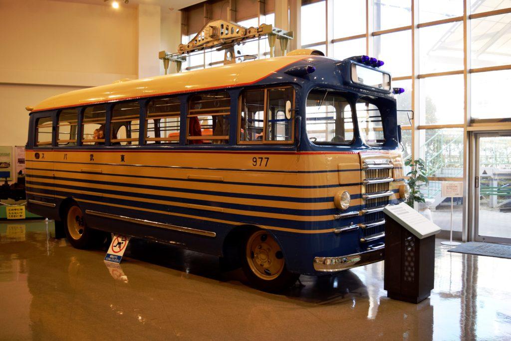 バスの展示