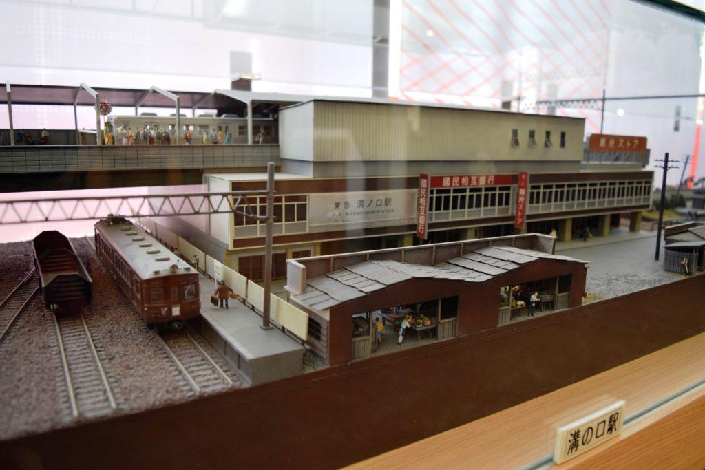 溝の口駅の模型