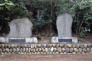 三好野神社のとおりゃんせの碑