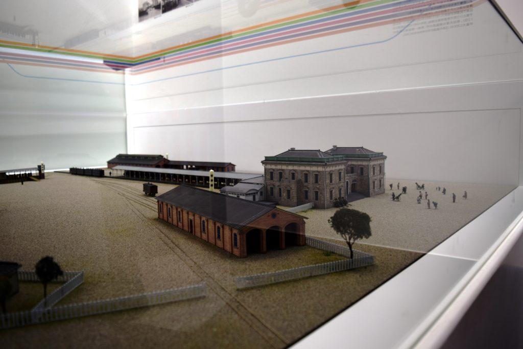 新橋停車場の模型