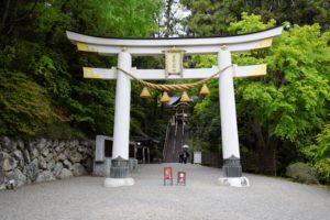宝登山神社の入り口