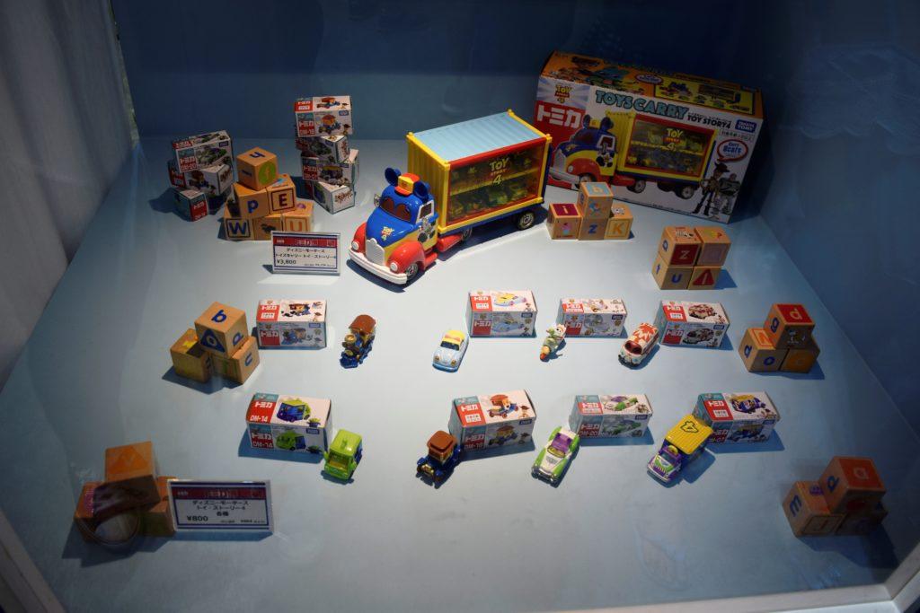ディズニーシリーズの展示