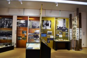 歴史館の内部