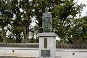 新井白石像